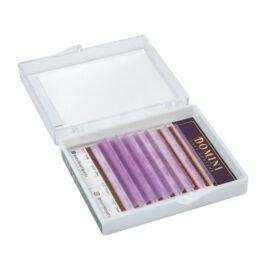 Ресницы Domini Lash Цветные светло-фиолетовые МИКС (8 линий)